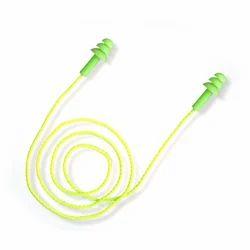 Green Reusable Ear Plugs