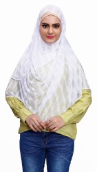 Stitched Hijab Scarf Women