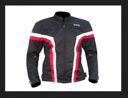 Black And Red Riding Jackets