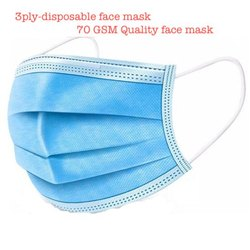 3ply quality face mask