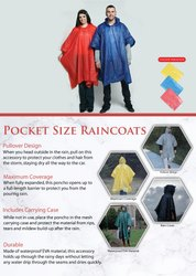 Pocket Size Raincoats - Giftana