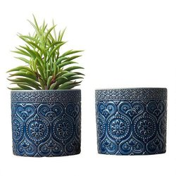 Motif Planter Oval Colored