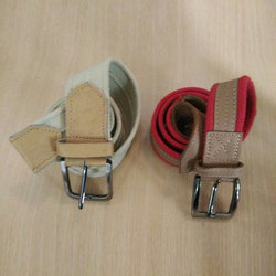 Colored Canvas Webbing Belt
