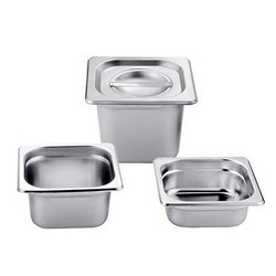 Silver Commercial Stainless Steel GN Pan