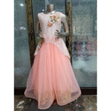 Western Party Fashionable Girls Gown, Size: 0-12