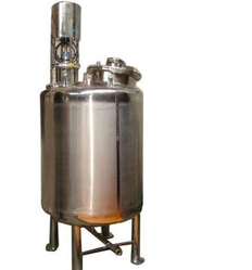 Stainless Steel Mixing Vessel, Capacity: 500-1000 L