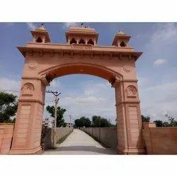 Sand Stone Carved Sandstone Gate Frame
