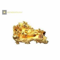 Gold Ganesha Statue