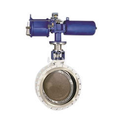 Electric Actuator Flanged End Butterfly Valve