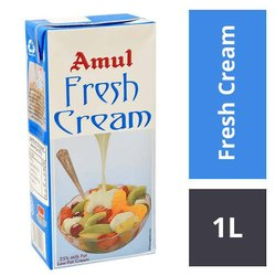 Blue Amul Cream, Packaging Size: 1 Ltr