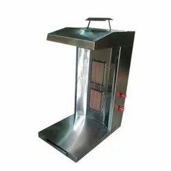 Table Top Double  Burner Gas Shawarma Machine