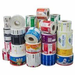 粘贴纸多色印刷贴纸印刷服务,用于产品,包装类型:滚动