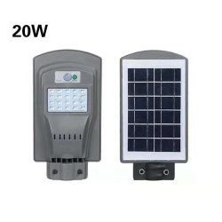 20W Solar All In One Street Light