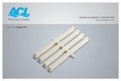 White Grating Single Pin