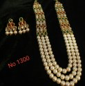 Long Kundan Necklace Set
