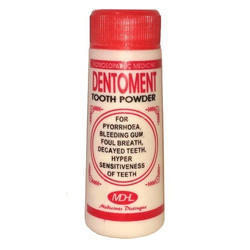 MDHL Dentoment Tooth Powder, Bottle, Packaging Size: 40g