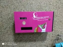 Powerfull 20 Napkins Sanitary Pads Vending Machine, 5 Rs., for Hospitals