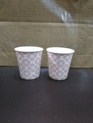 Printed Disposal Paper Glasses, Size: 210 mL