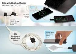 Cable with Wireless Charge