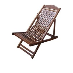 Teakwood Folding Easy Chair, For Home