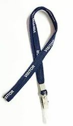 Visitor Lanyards With Metal Clip Pack Of 10 Pcs