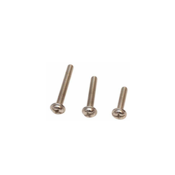 Coman Chrome Finish MS Nickel Handle Screw, For Hardware Fitting