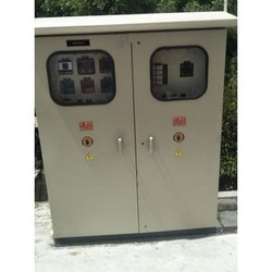 Mild Steel Double Door Control Panel Board, 8, IP Rating: IP44