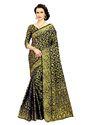 Banarasi Jacquard Saree Rich Pallu