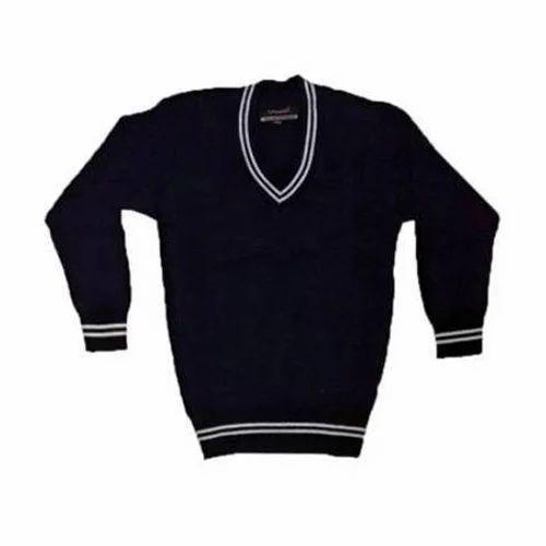 abd1c0194f68da Woolen Plain School Sweater, Rs 180 /piece, Krishna Boutique   ID ...