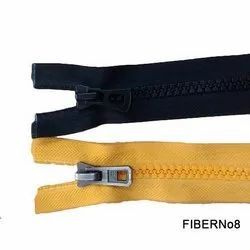Open End Fiber Zipper
