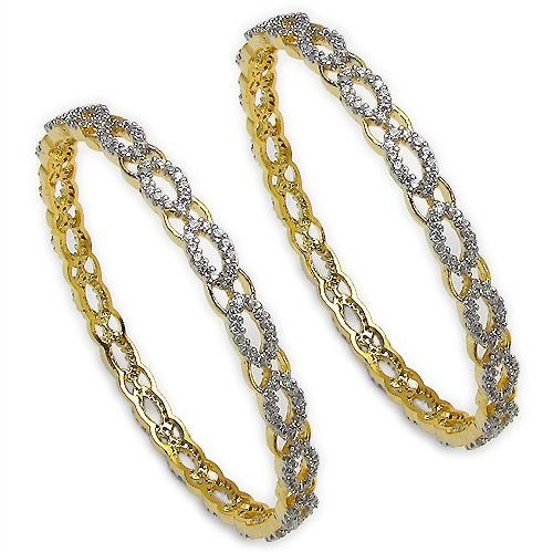 Ladies Fancy Designer American Diamond Bangles