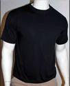 Black Round Neck Men T Shirts
