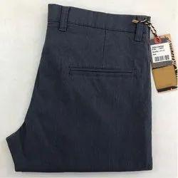 Slim Fit Cotton Men's Fancy Trouser