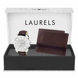 Customized Gift Of Watch & Wallet with Warranty