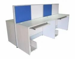 4 Seating Linear & Sharing Workstation