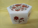 White Marble Inlay Boxes