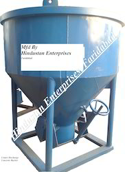 Ordinary Center Discharge Controlled Concrete Bucket