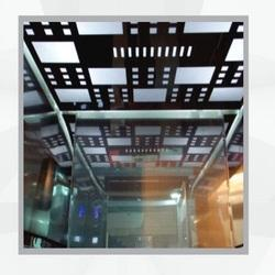 Stainless Steel Stylish Elevator Ceiling