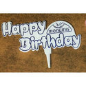Plastic Birthday Tag