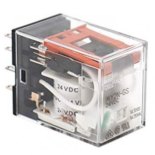 24vdc 2 Pole Omron Relay My2n