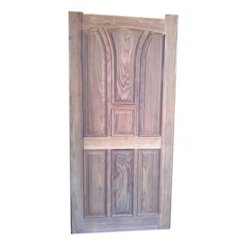 Finished Hinged Modern Wooden Door