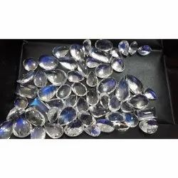 Moonstones Faceted Cut
