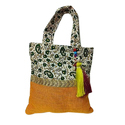 Designer Jute Cotton Bag