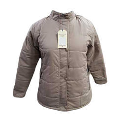 Ladies Polyester Full Sleeve Jacket, Size: M, L and XL