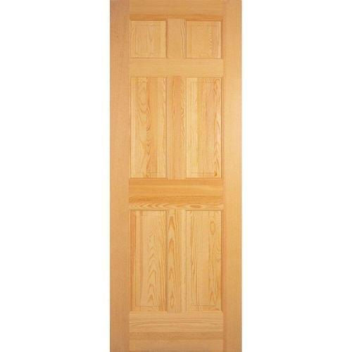 Brown Param Sales Corporation Pine Wood Flush Door