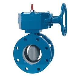 Flanged Butterfly Ball Valve