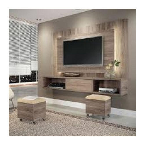 Wooden Wall Units For Living Room: Brown Wall Wooden TV Unit, Tahura Timber Traders