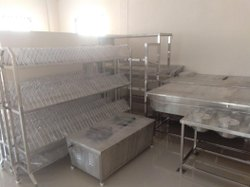 Plate Storage Rack