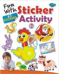 Fun With Sticker Activity 2 Book