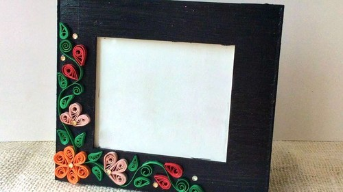 Handmade Paper Photo Frame at Rs 50 /piece | Photo Frames - New Era ...